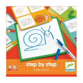 Imparare a disegnare step by step animali