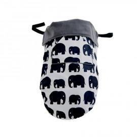 sacco passeggino elefanti Bundlebean Poppykidshop
