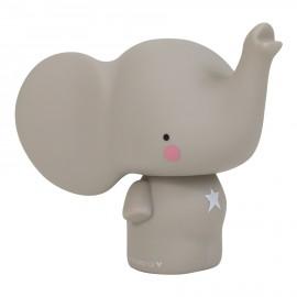 Salvadanaio Elefantino grigio A Little Lovely Company Poppykidshop