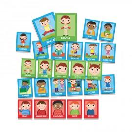 Flashcards Montessori Emozioni e azioni Headu 1-4 anni confezione - Poppykidshop