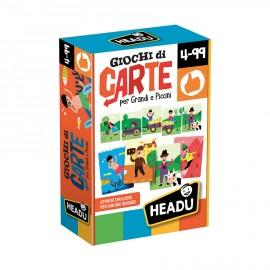 Giochi di Carte per Grandi e Piccini Headu 4-99 confezione -Poppykidshop