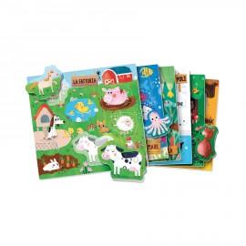 Gli animali sagomati Montessori Headu 2-5 anni confezione - Poppykidshop